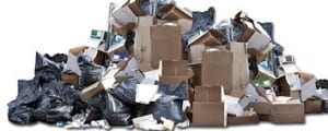 Trash-and-recycling-pile