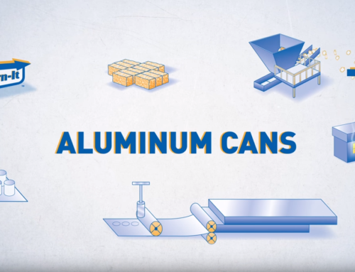 Aluminum Can Recycling Process